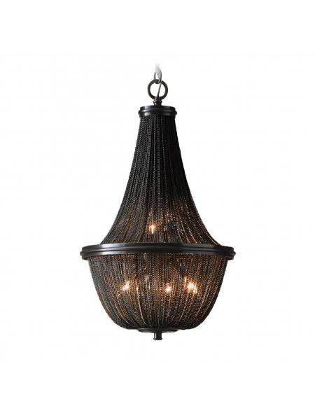 Lampa wisząca ROMA P04543BK elampy COSMO4
