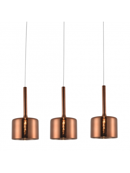 Lampa wisząca COPENHAGEN P03035CU elampy 012147-011353