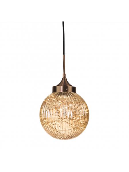 Lampa wisząca BARCELONA P01895BR elampy COSMO38
