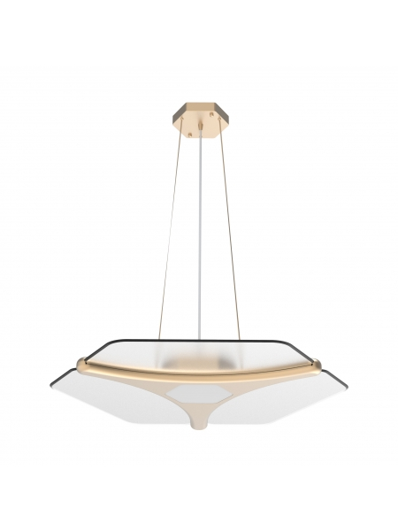Lampa wisząca DL-2S Plus D (gold) elampy 003842-009521