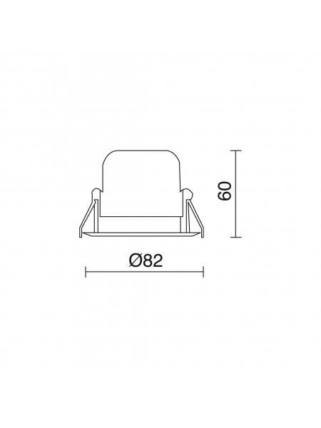 Spot NIX LED 780C-L3108B-01 elampy indeluz9