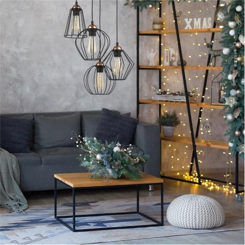 Zimowe oświetlenie dekoracyjne